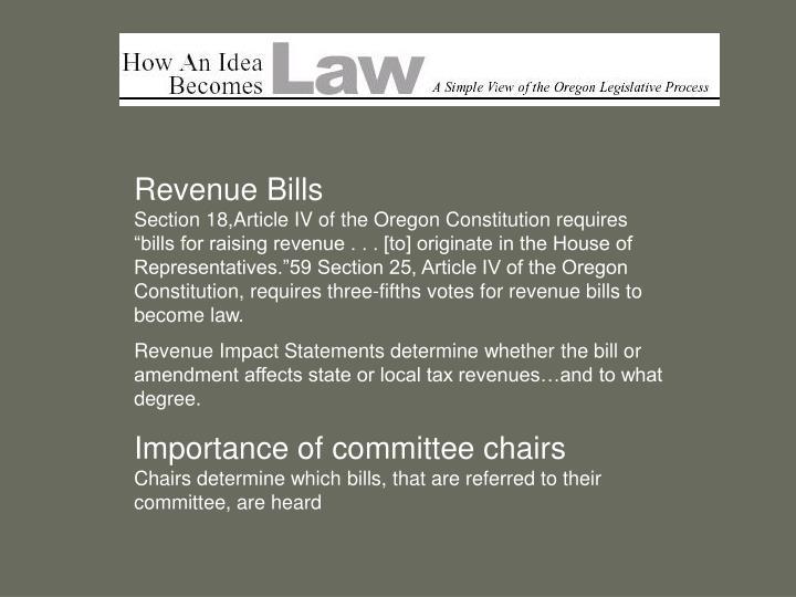 Revenue Bills