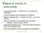 rapport d activit 1