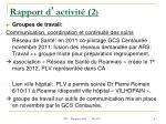 rapport d activit 2