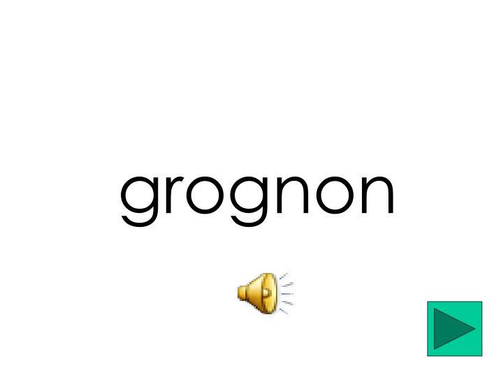 grognon