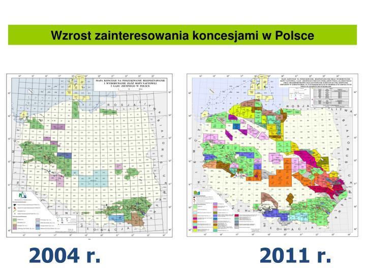 Wzrost zainteresowania koncesjami w Polsce