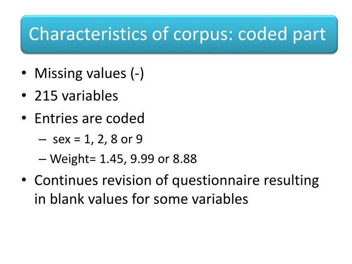 Missing values (-)