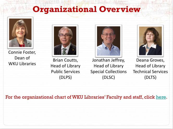 Organizational Overview