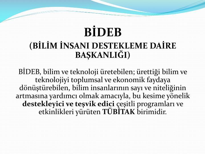 BİDEB