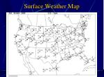 surface weather map