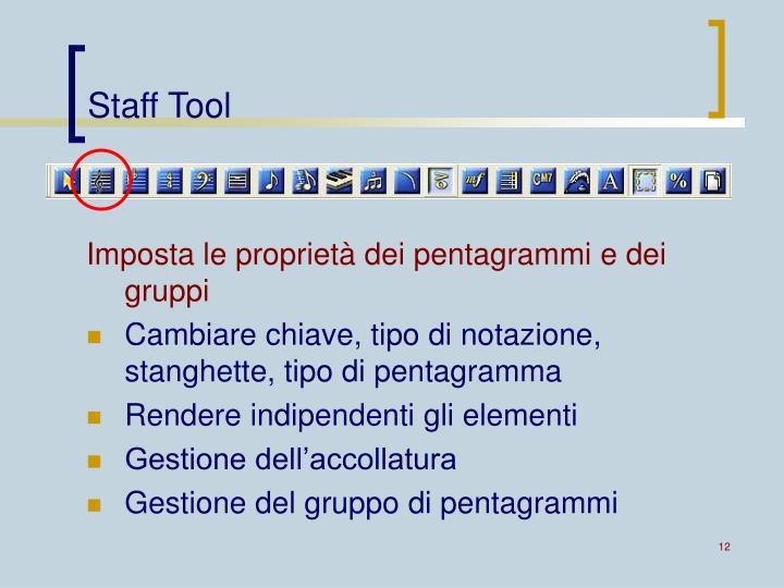Staff Tool