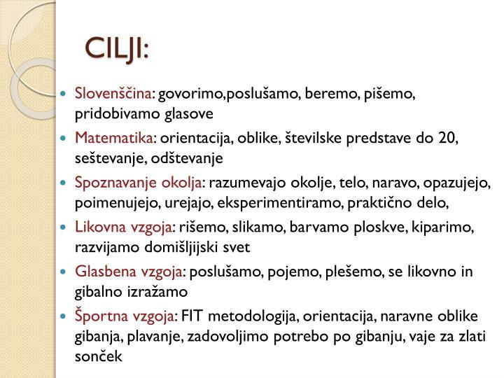 CILJI: