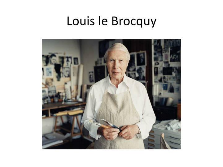 Louis le Brocquy
