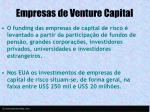empresas de venture capital