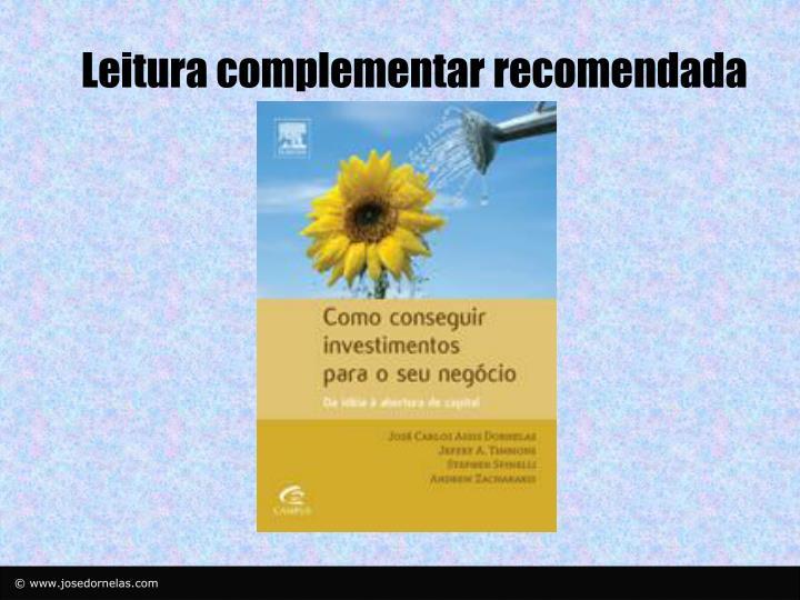 Leitura complementar recomendada