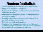 venture capitalists