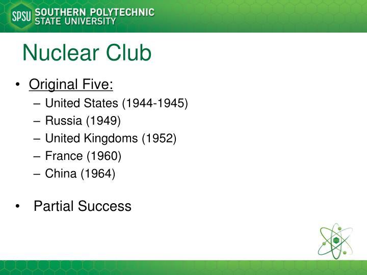 Nuclear Club