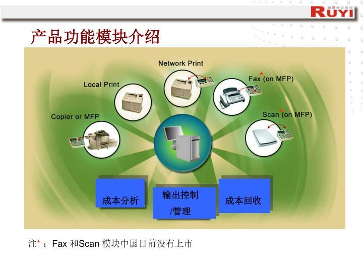 产品功能模块介绍