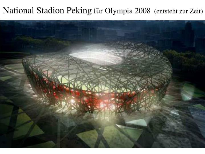 National Stadion Peking
