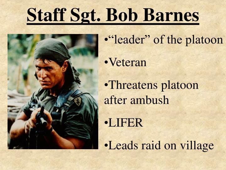 Staff Sgt. Bob Barnes