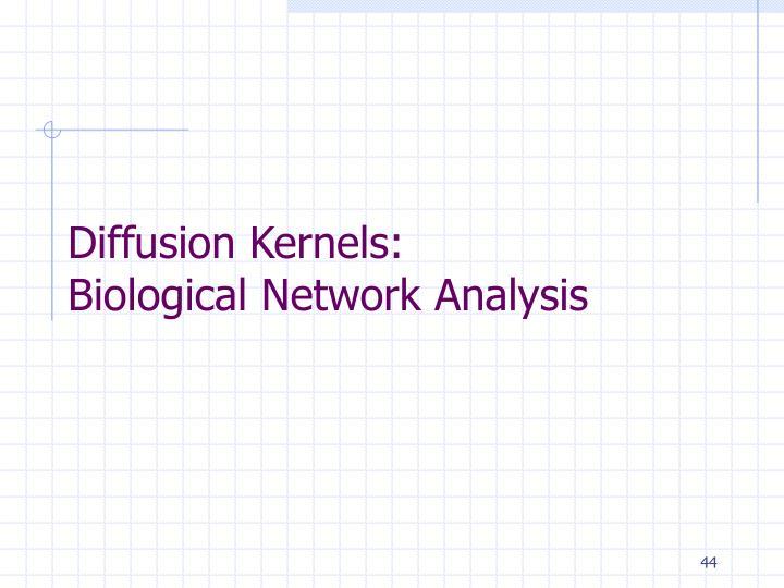 Diffusion Kernels: