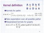kernel definition