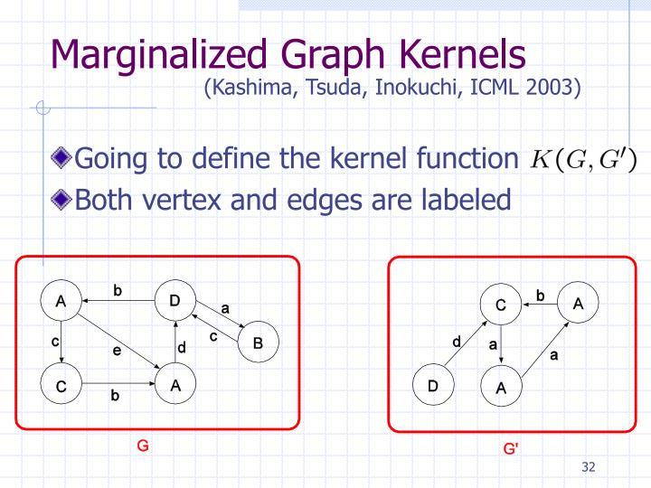 Marginalized Graph Kernels