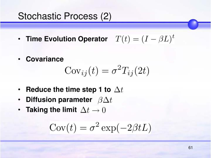 Stochastic Process (2)