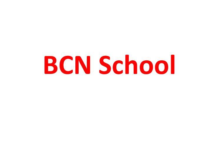 BCN School