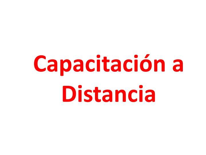 Capacitación a