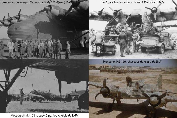 Hexamoteur de transport Messerschmitt Me 323