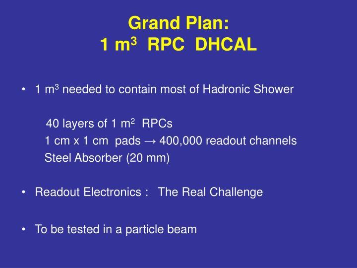 Grand Plan: