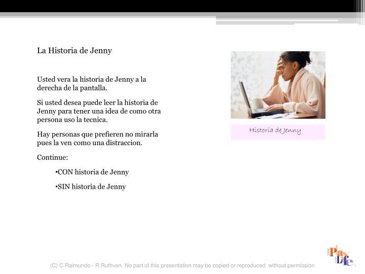La Historia de Jenny
