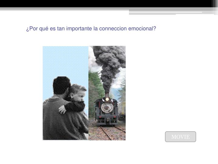 ¿Por qué es tan importante la conneccion emocional?