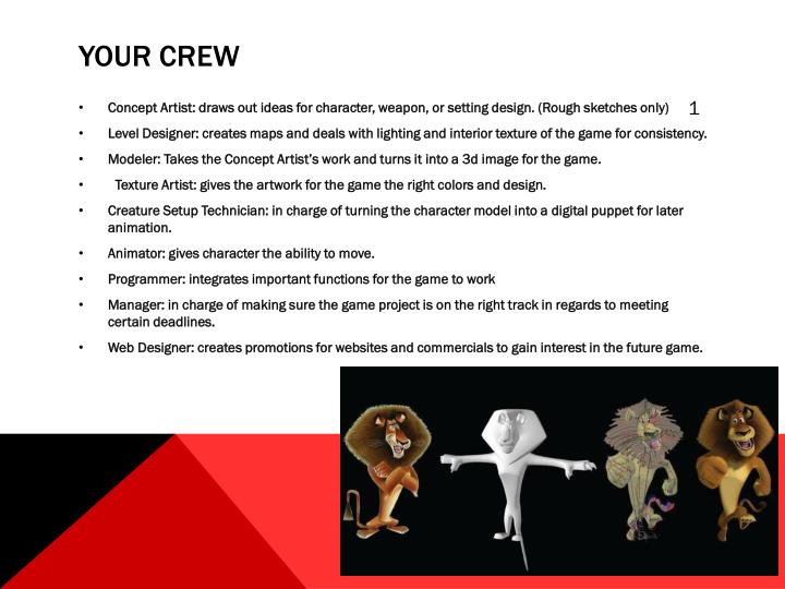 Your crew