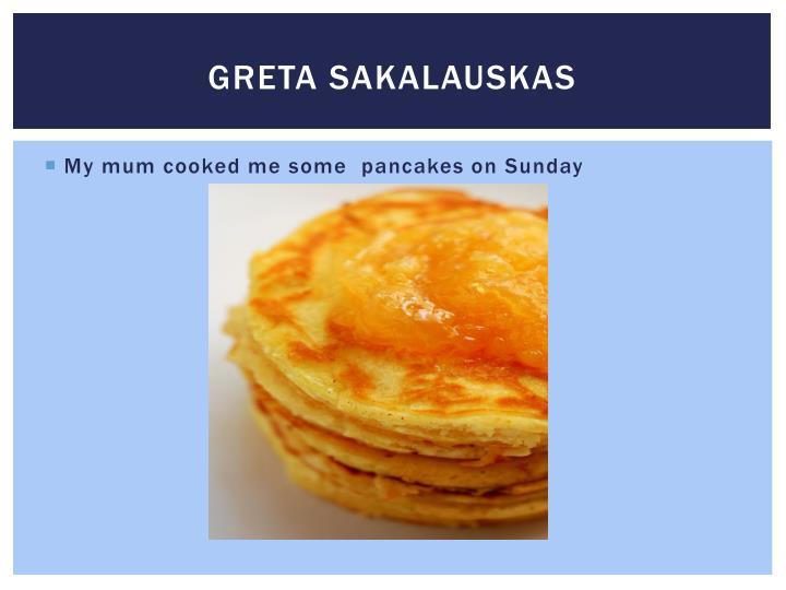 Greta SAKALAUSKAS
