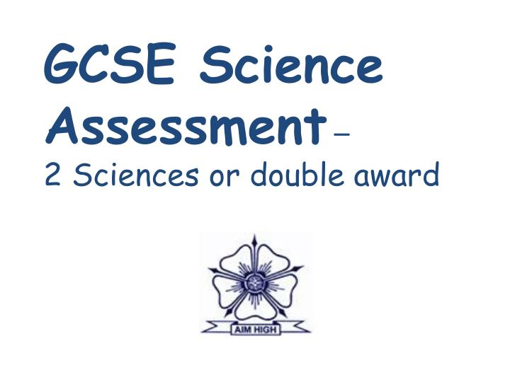 Gcse science coursework case study