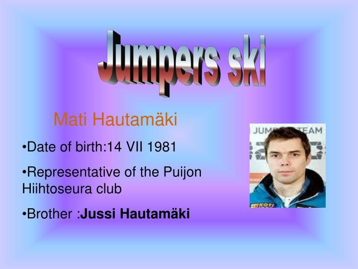 Jumpers ski