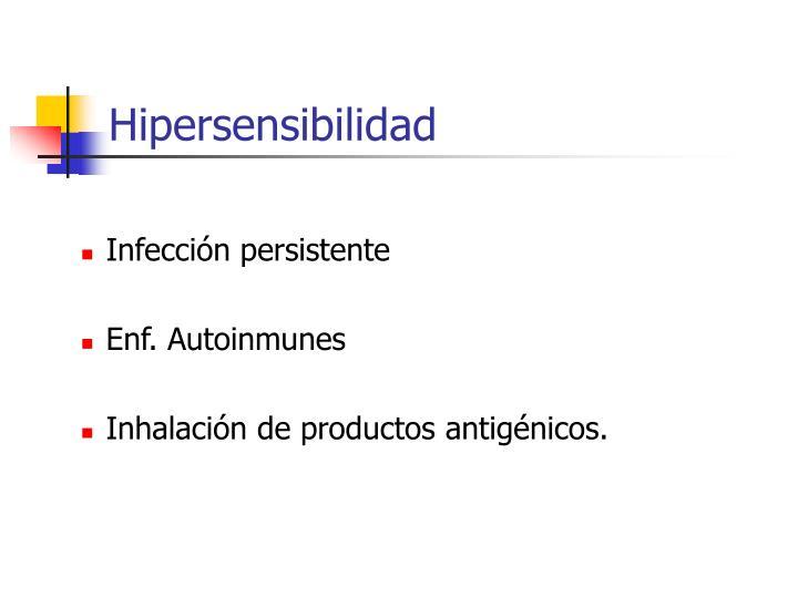 Hipersensibilidad