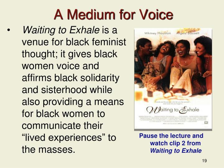 A Medium for Voice