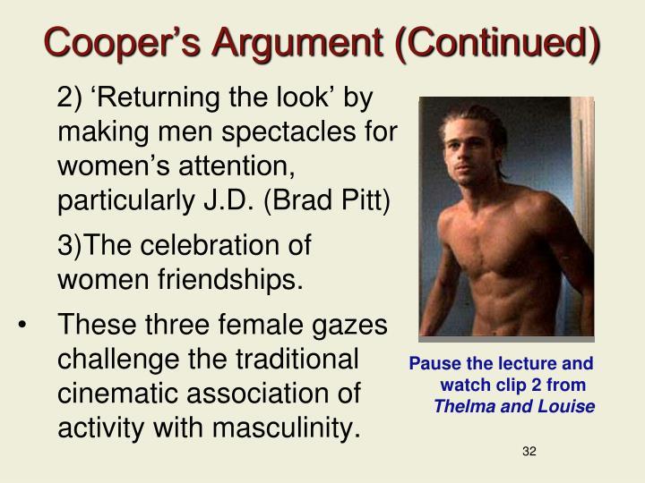 Cooper's Argument (Continued)