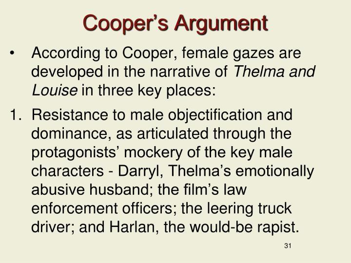 Cooper's Argument