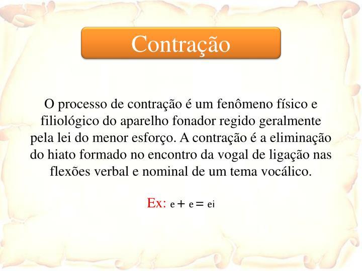 Contração