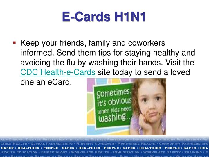 E-Cards H1N1