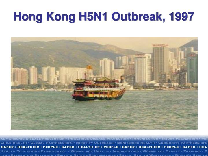 Hong Kong H5N1 Outbreak, 1997