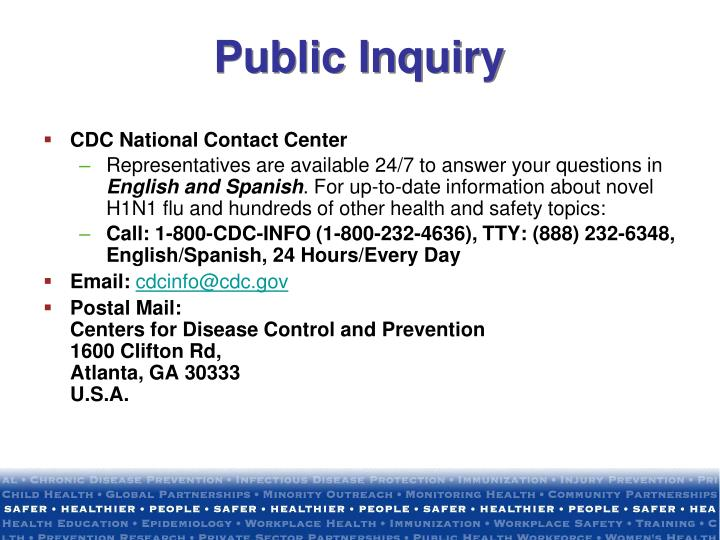 Public Inquiry