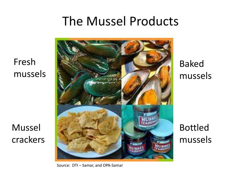 The Mussel Products