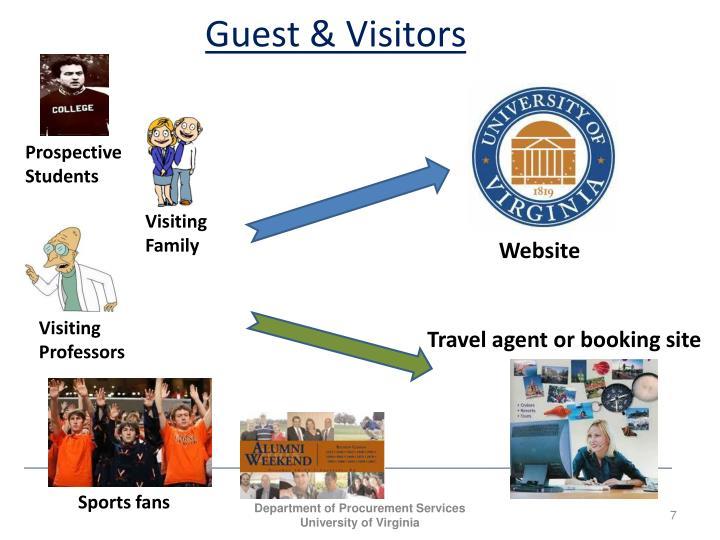 Guest & Visitors