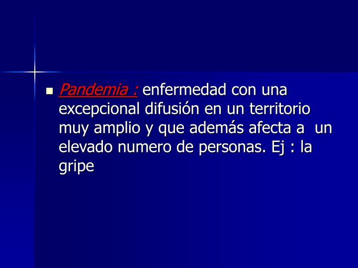 Pandemia :