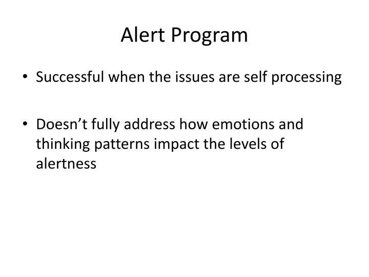 Alert Program