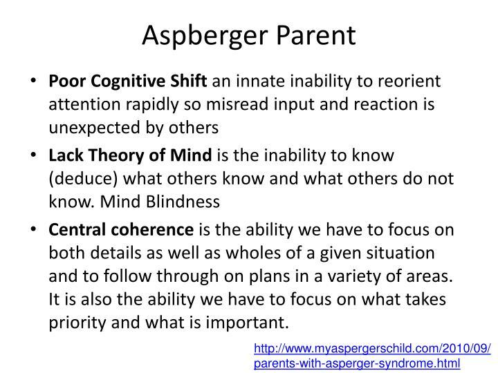 Aspberger Parent