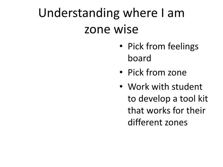 Understanding where I am