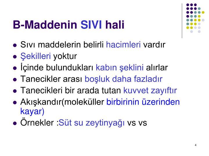 B-Maddenin