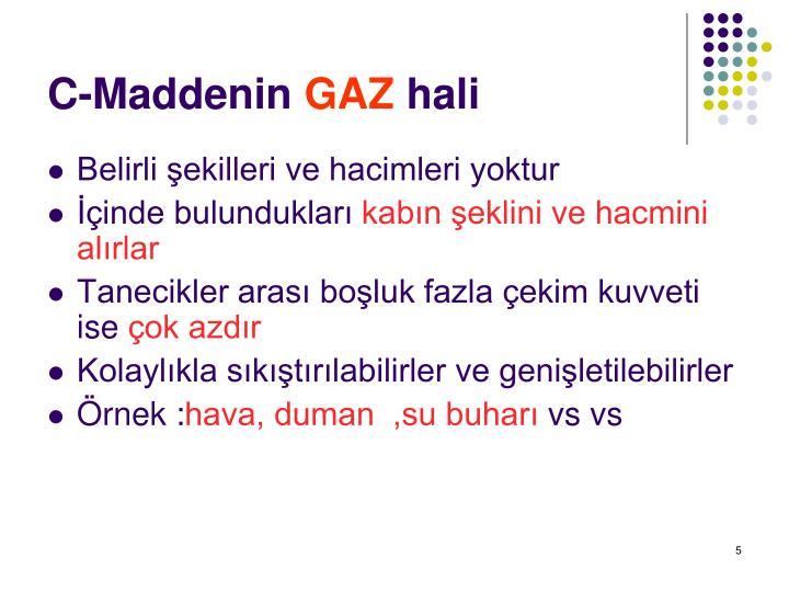 C-Maddenin