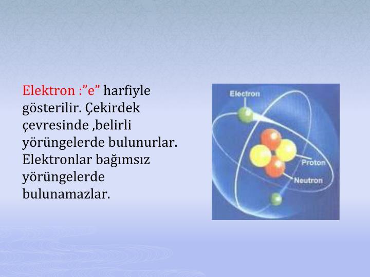 "Elektron :"""